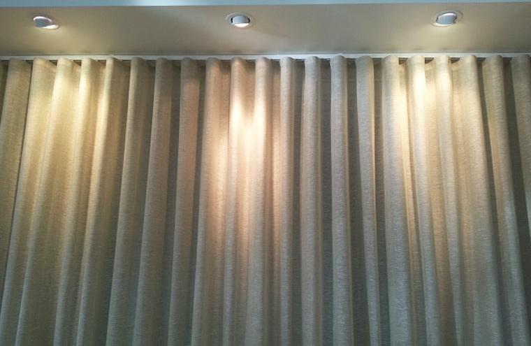 Custom Made S Fold Curtains