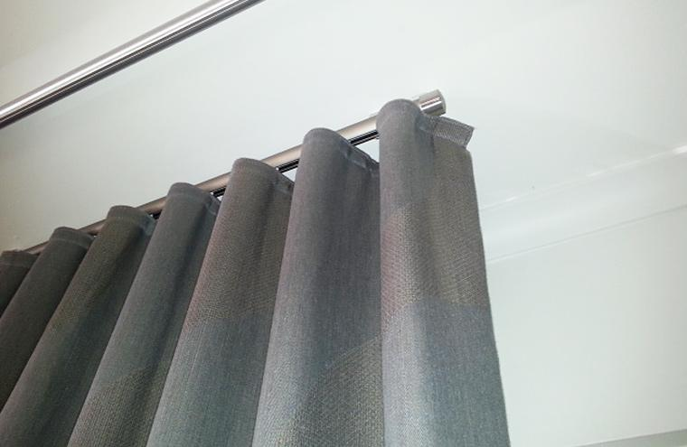 Custom Made S Fold Curtains Melbourne