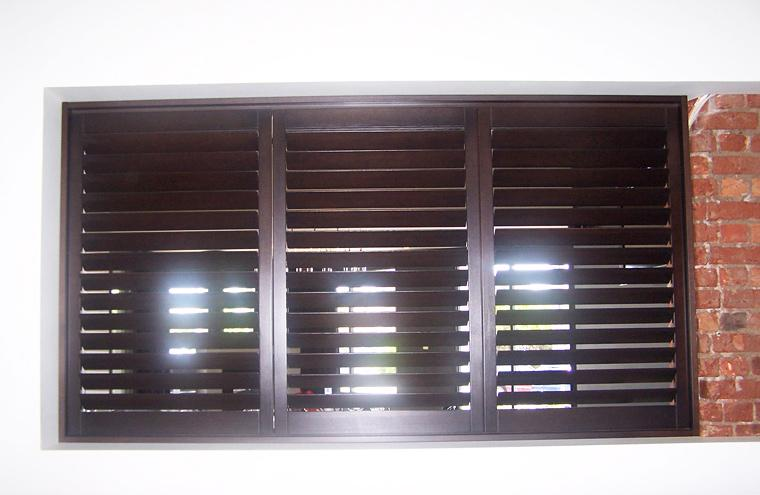 Custom Made Frameless Hinged Shutters Prahran Melbourne
