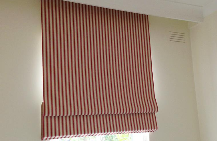 Custom Made Roman Blinds Melbourne Portside Shutters