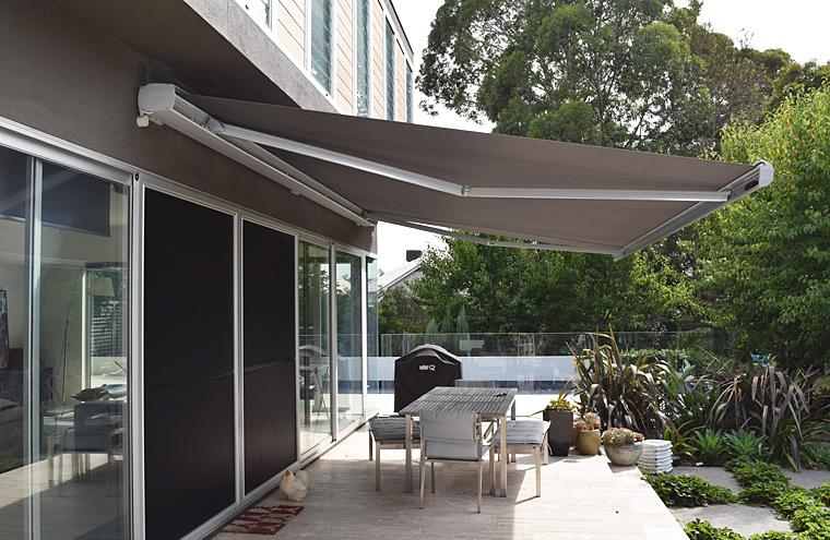 Luxaflex Products Folding Arm Awnings Prahran Melbourne