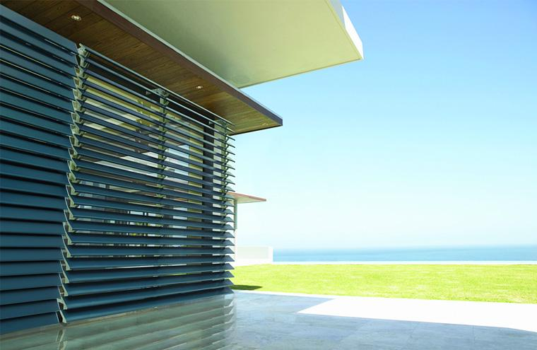 Luxaflex Products Metal Louvre Awnings Prahran Melbourne