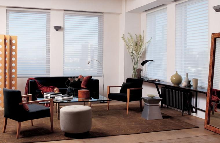 how to take luxaflex venetian blinds down