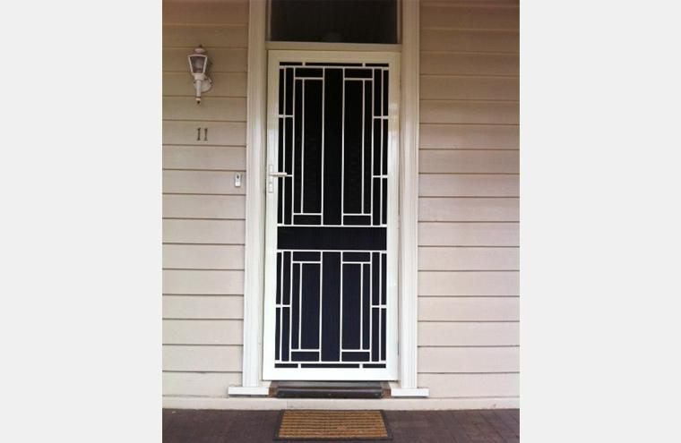& Stainless Steel Mesh Security Doors Melbourne